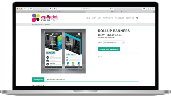 web-to-print ecommerce